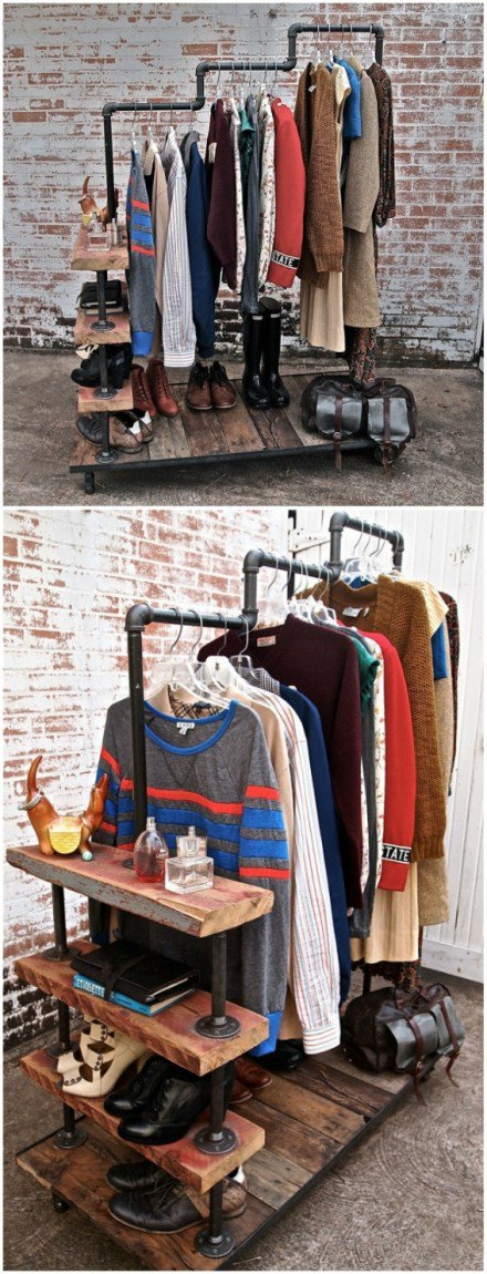 Clothing Storage Solutions For Small Spaces-usefuldiyprojects (38)