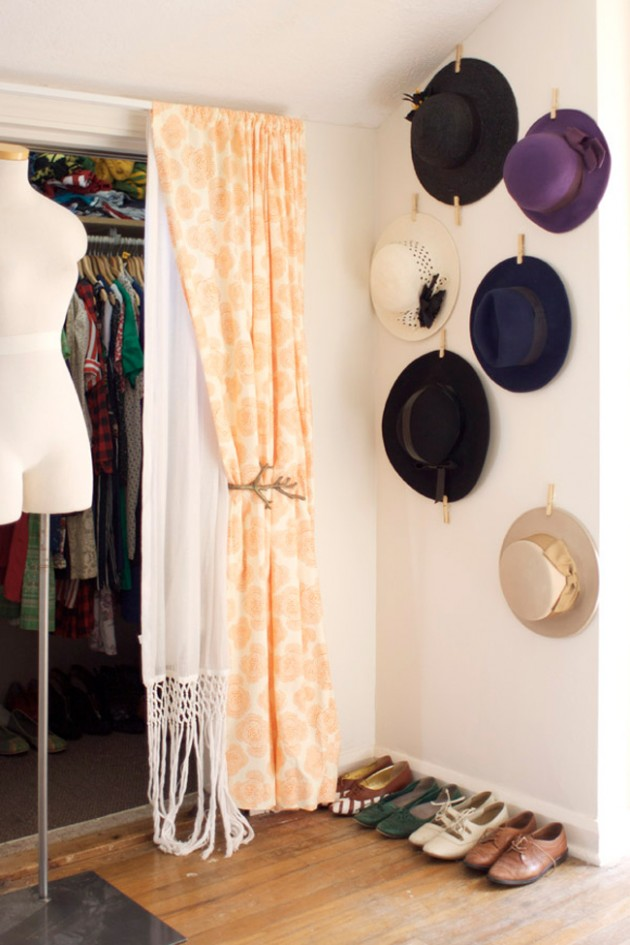 DIY Clothing Storage Solutions For Small Spaces-usefuldiyprojects (26)