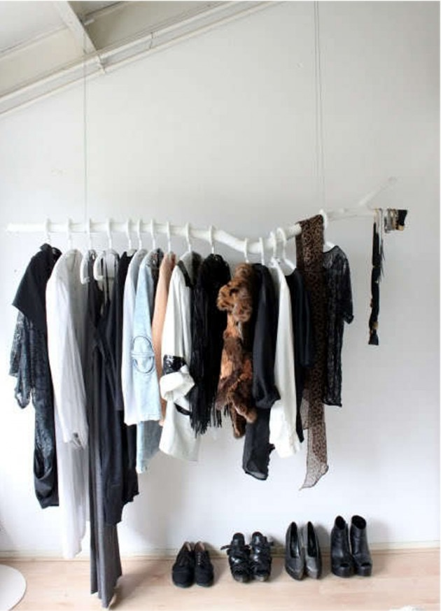 DIY Clothing Storage Solutions For Small Spaces