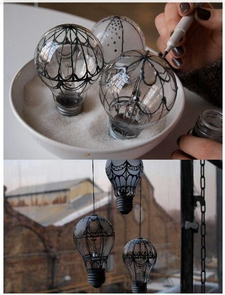 Having Fun With  Light Bulb Projects-usefuldiyprojects.com (26)