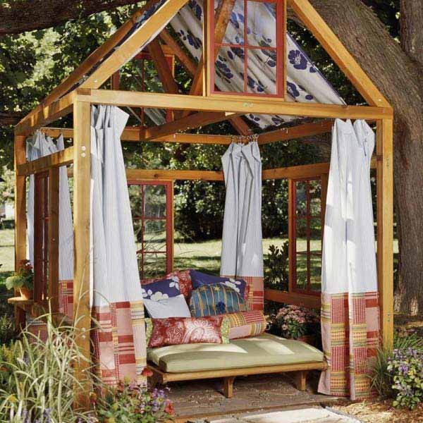 25 Beautifully Inspiring DIY Backyard Pergola Designs For Outdoor Enterntaining usefuldiyproject pergola design (8)