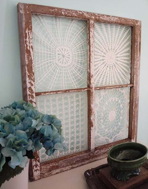 22 Mesmerizing Homemade DIY Lace Crafts To Beautify Your Home usefuldiyprojects.com (1)