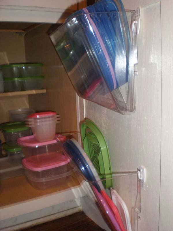 12 Insanely Smart Ways to Organize Your Pot Lids (11)