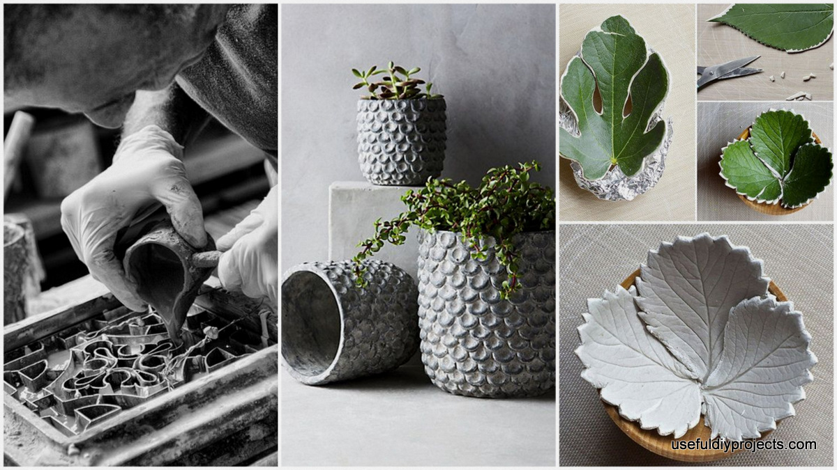 19 Beautiful DIY Cement Crafts To Add Diversity To Your Interior Decor