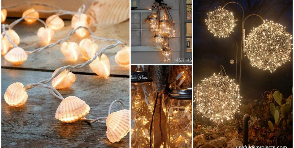 15 diy christmas light ideas to make the holidays warmer and brighter aloadofball Choice Image