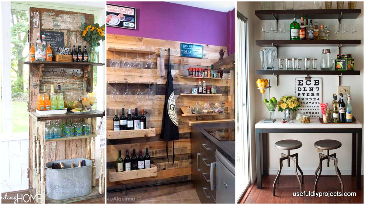 15 Epic Home Bar Ideas That You Can Do In Your Home   Useful DIY Projects