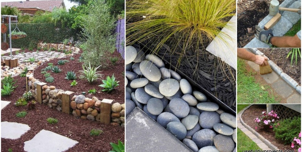 Garden Edging Ideas how to install brick edging 15 Garden Edging Ideas That Will Make Your Garden Stand Out