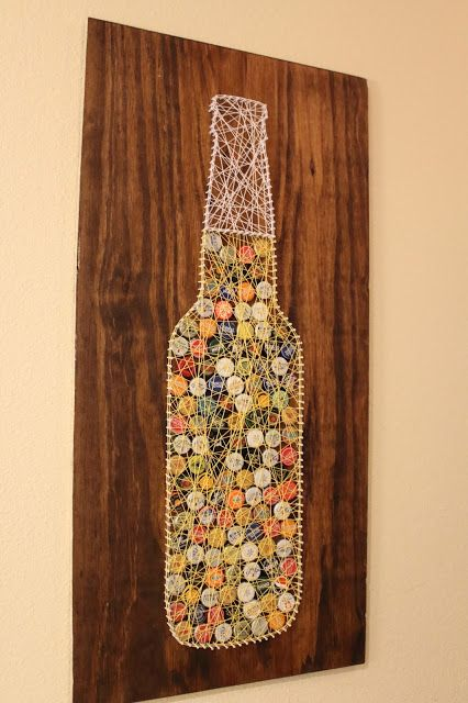 Bottle Cap Wall Art bottle cap art ideas you can make for your home