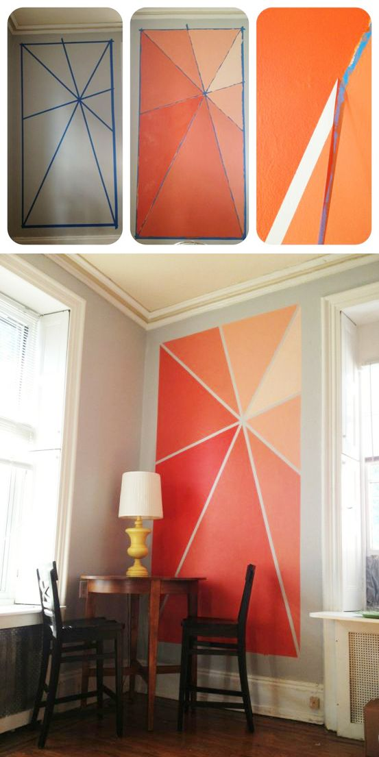 Superbe 11. Go Crazy And Realize This Ombre Accent Wall.  791e4a47f7a226801e8d777c995b58b7