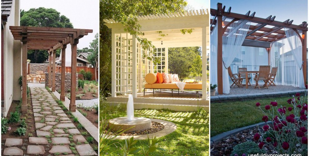 Use These 15 Pergola Designs to Make Your Home Stunning - Useful DIY ...
