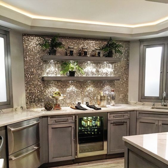 15 Distinguished Rustic Home Bar Designs For When You: 15 Basement Bar Ideas To Redefine Your Events