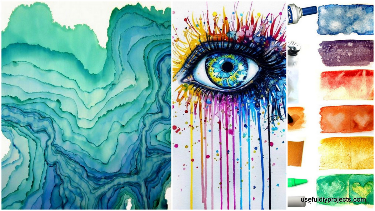 15 watercolor painting ideas you can do at home useful for Watercolor painting and projects