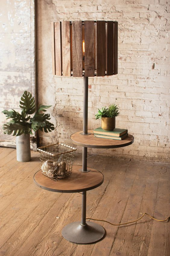 Stunning 15 DIY Floor Lamps to Complete a Room - Useful DIY Projects