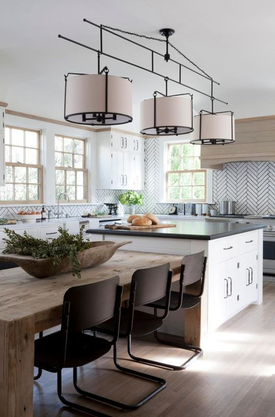kitchen island table. Kitchen Island Table Designs 15 To Incorporate Into Your Home