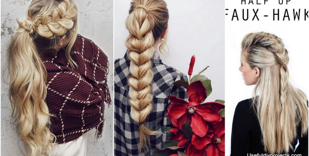 Easy Braid Hairstyles easy updo tutorial A Whole Month Of New Braided Hairstyles With These 33 Easy Braids