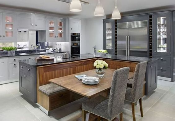 15 kitchen island table designs to incorporate into your home