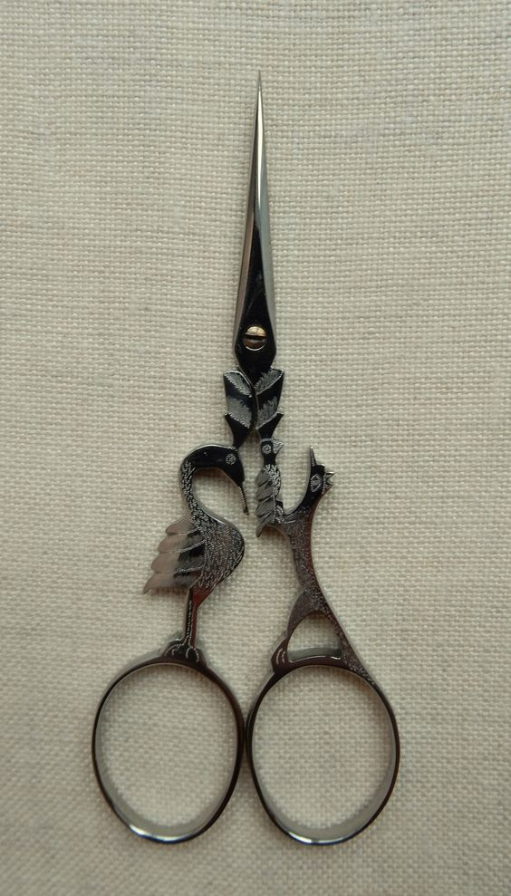 Roulet - Nogent,France. Crow and Fox Scissors - Aesop's Series