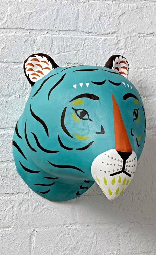 40 DIY Paper Mache Ideas To Take On - Useful DIY Projects