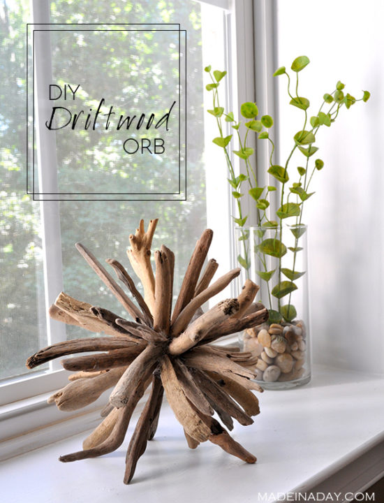 Fill your home with 45 delicate diy driftwood crafts for Driftwood art projects