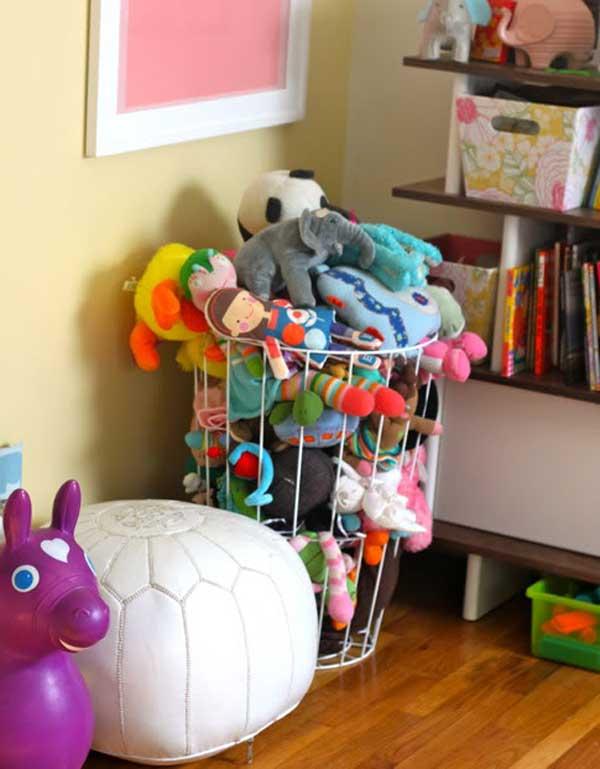 Top 40 Stuffed Animal Storage Ideas To Consider