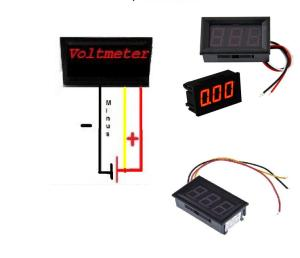 Usefulldata | Digital DC Voltmeter 0100V from china