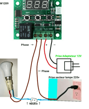 Usefulldata | Cheap 12V temperature controller XH