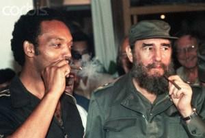 Jesse Jackson and Fidel Castro
