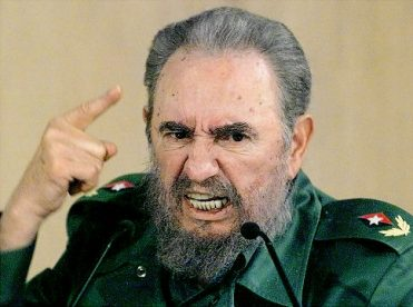 "(FILES) In this 04 September1999 file photo, Cuban President Fidel Castro discusses his request to the president of the International Olympic Committee in Havana for an investigation into the treatment of certain Cuban atheletes. Castro said the communist nation is not afraid of dialogue with the United States -- and not interested in continued confrontation with its powerful neighbor. The comments came as a group of US lawmakers visited Cuba this weekend to try to end nearly half a century of mutual distrust and amid reports that President Barack Obama was planning to ease economic sanctions on the island, including travel restrictions on Cuban-Americans. ""We're not afraid to talk with the United States. We also don't need confrontation to exist, like some fools like to think,"" Castro, 82, said in an article on the Cubadebate website on April 5, 2009. AFP PHOTO/ADALBERTO ROQUE /FILES (Photo credit should read ADALBERTO ROQUE/AFP/Getty Images) Original Filename: Was672139.jpg"