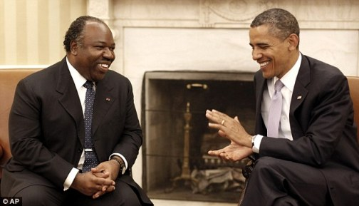 Bongo with U.S. President Barack Obama