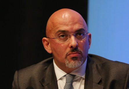 MP for Stratford on Avon Nadhim Zahawi adjusts his glasses during a discussion on 'The United Kingdom in Action' during the second day of the Conservative Party Conference at the ICC, Birmingham.