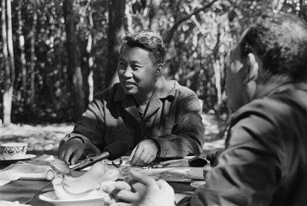 Pol Pot i den thailandske jungle. (Udateret arkivfoto).