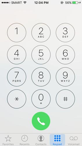 Keypad Option