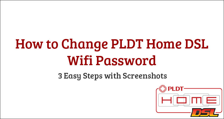 How to change wifi password pldt home dsl router