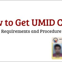 How to Get UMID ID Requirements and Procedure