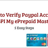 How to Verify Paypal Account Using BPI My ePrepaid MasterCard