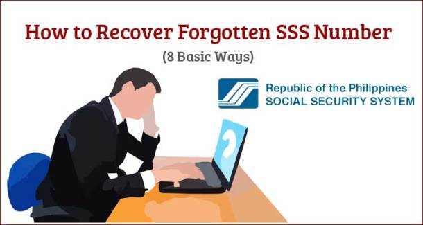 How to Recover Forgotten SSS Number