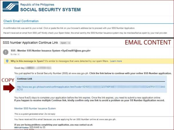 Step 5 Email Verification