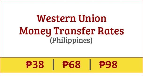 Western Union Rates