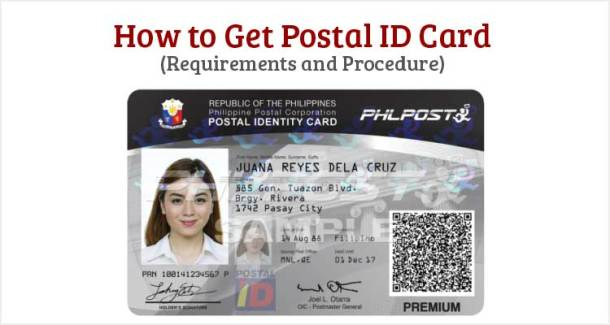 How to Get Postal ID Card