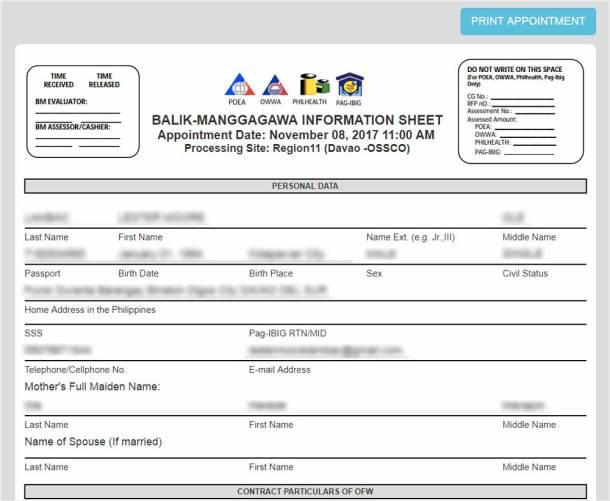 BMOnline Information Sheet