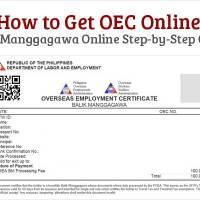 How to Get OEC Online - Balik-Manggagawa BM Online