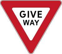 2. Give Way