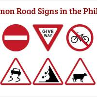 40 Common Road Signs in the Philippines