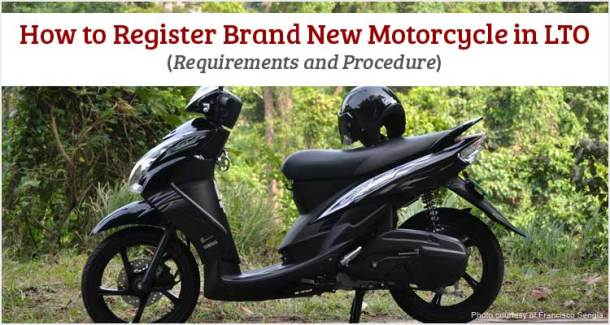 How to Register New Motorcycle in LTO