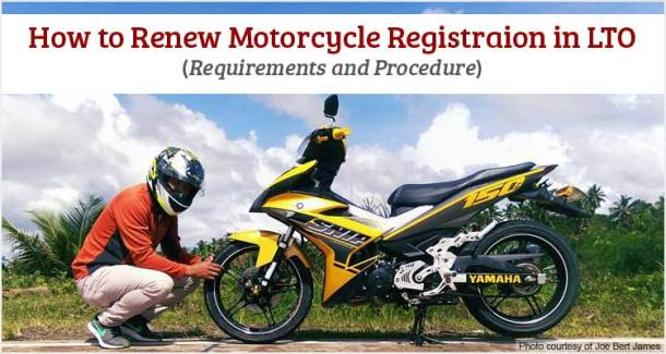 How to Renew Motorcycle Registration in LTO