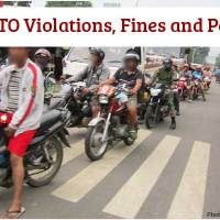 List of LTO Violations, Fines and Penalties 2018