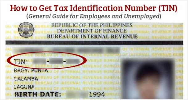 How to Get TIN Number for Employees or Students and Unemployed