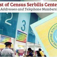 List of PSA Census Serbilis Centers and Contact Numbers