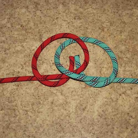 Alpine butterfly bend step by step how to tie instructions