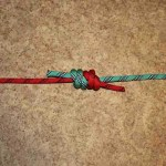Double fisherman's knot